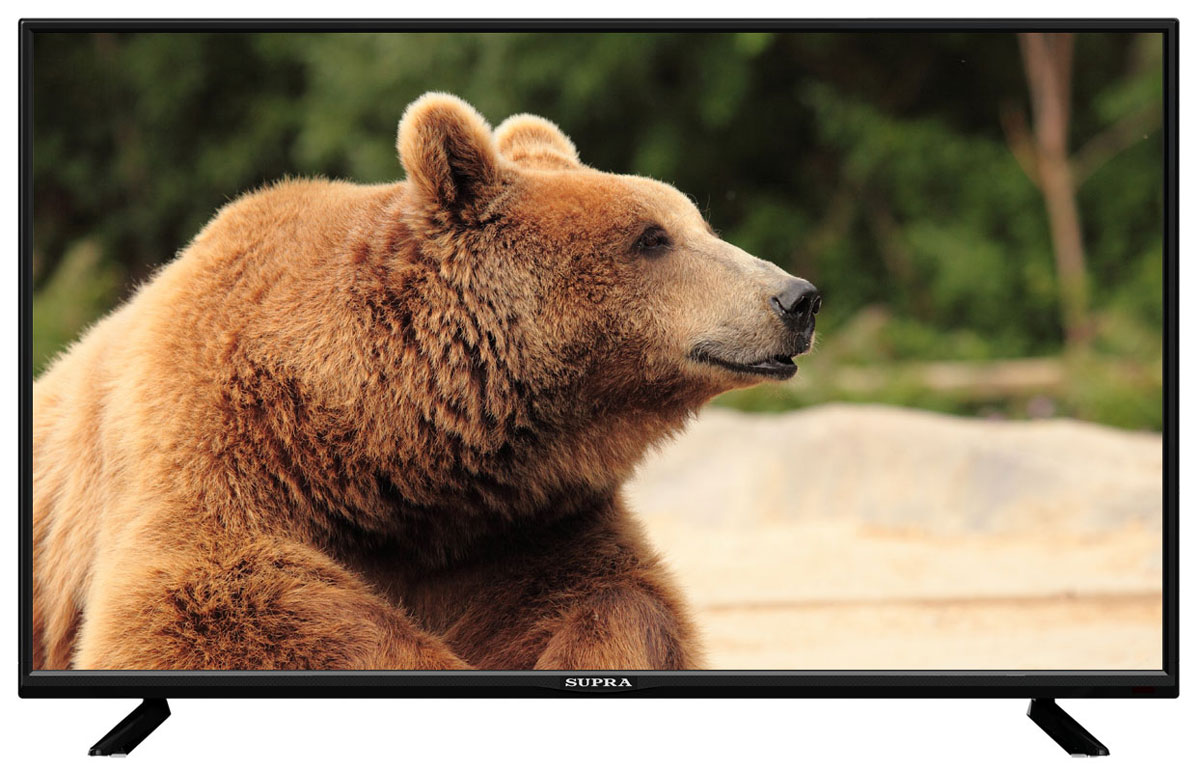 Supra STV-LC32T430WL телевизорSTV-LC32T430WLТелевизор Supra STV-LC32T430WL с насыщенной цветопередачей изображения на экране с разрешением 1366x768 HD и широкими углами обзора. Источником сигнала для качественной реалистичной картинки служат не только цифровые эфирные и кабельные каналы, но и любые записи с внешних носителей, благодаря универсальному встроенному USB медиаплееру.Количество цветов:16,7 миллионовПоддержка HDTVЯркость: 250 кд/м2Динамическая контрастность: 80000:1Угол обзора: 176°/176°Время отклика пикселя: 5 мс