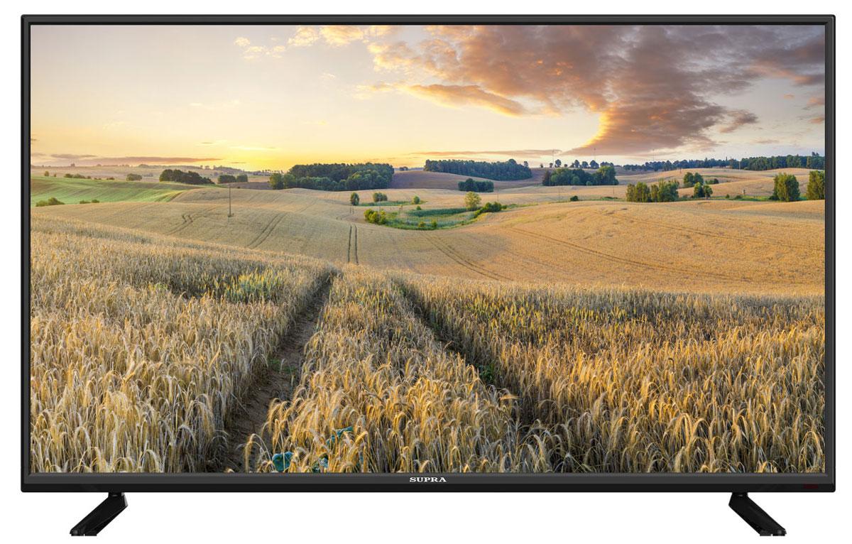 Supra STV-LC40T500WL телевизорSTV-LC40T500WLТелевизор Supra STV-LC40T500WL с насыщенной цветопередачей изображения на экране с разрешением 1366х768 HD и широкими углами обзора. Источником сигнала для качественной реалистичной картинки служат не только цифровые эфирные и кабельные каналы, но и любые записи с внешних носителей, благодаря универсальному встроенному USB медиаплееру.Количество цветов: 16,7 миллионовПоддержка HDTVЯркость: 300 кд/м2Динамическая контрастность: 100000:1Угол обзора: 176°/176°Время отклика пикселя: 6 мс