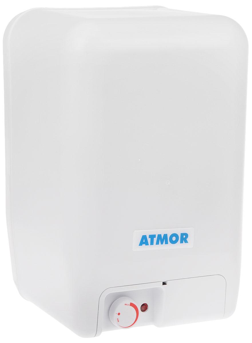 Atmor O/S/E 15 LT водонагреватель накопительныйAтмор O/S/E 15 LTAtmor O/S/E 15 LT - накопительный водонагреватель компактного размера со стеклокерамическим покрытием бака. Экономия пространства в помещении благодаря возможности установки над раковиной. Простота установки - отличительная черта данной модели. Внешний поворотный терморегулятор с функцией включения/выключения водонагревателя, с плавной регулировкой мощности и с защитой от влаги. для легкости управления. ТЭН с тепловой и токовой защитой.