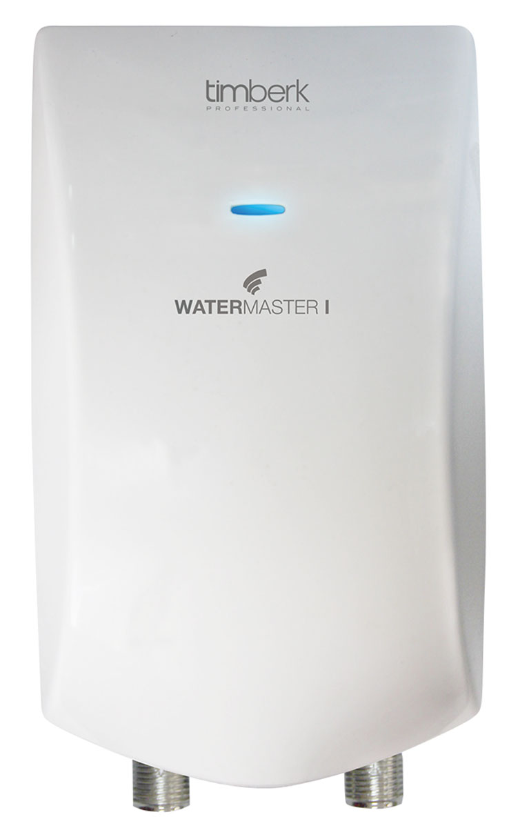 Timberk WHE 4.5 XTR H1 проточный водонагревательWHE 4.5 XTR H1С проточным водонагревателем Timberk WHE 4.5 XTR H1 вы экономите на оплате счетов за электричество и водоснабжение. Прибор имеет эргономичный дизайн и компактный размер. Конструкция корпуса обеспечивает степень защиты IPX4.Мгновенный нагрев воды обеспечивает нихромовый спиральный нагревательный элемент (НЭ) с керамической защитой; а также специально разработанная форма НЭ существенно снижает образование накипиРеволюционная конструкция нагревательного блока с предварительным подогревом входящей воды обеспечивает высокие показатели эффективности нагрева.Металлические выводы входа и выхода успешно предотвращают возможность повреждения резьбового соединения при монтаже – еще один плюс к степени надежности прибора.Электронная автоматическая защита от перегрева: резистивный термодатчикСетчатый фильтр в месте забора холодной водыИндикатор нагрева воды на передней панели водонагревателяЭлектрический шнур в комплектеАвтоматическое отключение при отсутствии подачи воды, а также при случайном перекрытии выхода горячей водыМембранный датчик протока повышенной степени надежностиКласс влагозащиты: IPX4Класс электрозащиты: 1