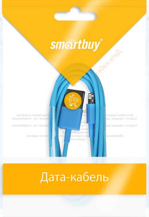 Smartbuy iK-512c, Blue дата-кабель USB-8-pin (1,2 м)iK-512c blueКабель Smartbuy iK-512c, для подключения устройств Apple к USB-порту компьютера или зарядки. Позволяет производить быструю зарядку электронного устройства и обеспечивает надежную синхронизацию с PC или Mac.