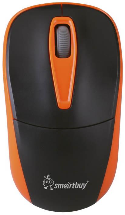 Smartbuy 373AG, Orange Black мышьSBM-373AG-KOБеспроводная оптическая мышь SmartBuy 373AG предназначена для ноутбука или ПК. Эргономичная и в то же время симметричная форма корпуса обеспечивает комфортное управление любой рукой. Разрешение 1000 dpi позволяет использовать устройство для работы в различных программах. Функция энергосбережения продлевает срок службы батарейки. Входящий в комплект миниатюрный наноресивер можно оставлять включенным в порт компьютера даже при транспортировке, не боясь его потери или повреждений, так как он выступает из корпуса компьютера всего лишь на несколько миллиметров.