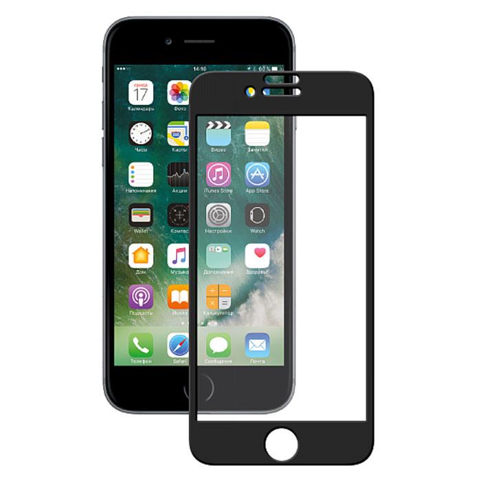 Deppa 3D защитное стекло для Apple iPhone 7, Black62035Прочное защитное стекло из японского закаленного стекла Asahi Deppa 3D защитит экран вашего устройства от царапин. Обеспечивает более высокий уровень защиты по сравнению с обычной пленкой. При этом яркость и чувствительность дисплея не будут ограничены. Препятствует появлению воздушных пузырей и надежно крепится на экране устройства.