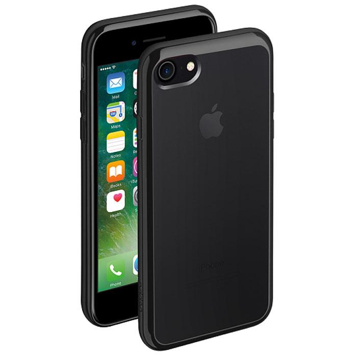 Deppa Gel Plus Case чехол для Apple iPhone 7, Black85253Чехол Deppa Gel Plus Case из TPU производства Bayer предназначен для защиты корпуса смартфона от механических повреждений и царапин в процессе эксплуатации. Имеется свободный доступ ко всем разъемам и кнопкам устройства.Толщина: 0.9 мм
