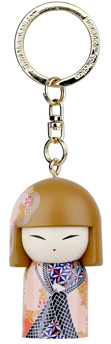 Брелок Kimmidoll Каона, цвет: оранжевый. TGKK202Брелок для ключейБрелок-талисман Kimmidoll Каона выполнен в традиционном японском стиле. Брелок оснащен прочным металлическим кольцом для ключей. Брелок-талисман упакован в подарочную коробку.Привет, меня зовут Каона!Я талисман Друга!Мой дух полон соучастия и взаимопонимания!Вы разделяете силу моего духа, когда радуетесь достижениями других, а в трудные минуты оказываете настоящую поддержку, показывая истинную ценность дружбы. Кокеши (японская матрешка) - это традиционная японская кукла. Дарится в знак дружбы, симпатии, любви или по поводу какого-либо приятного события! Считается, что это не только приятный сувенир, но и талисман, которыйприносит удачу в делах, благополучие в доме и гармонию в душе!
