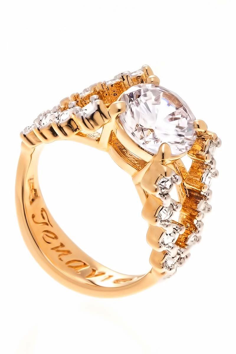 Кольцо Jenavi Teona. Ситара, цвет: золотой, белый. f429q0a0. Размер 20Коктейльное кольцоИзящное кольцо Jenavi из коллекции Teona. Ситара изготовлено из ювелирного сплава с покрытием из родированной позолоты. Изделие выполнено в необычном дизайне и дополнено кристаллами Swarovski. Стильное кольцо придаст вашему образу изюминку, подчеркнет индивидуальность.