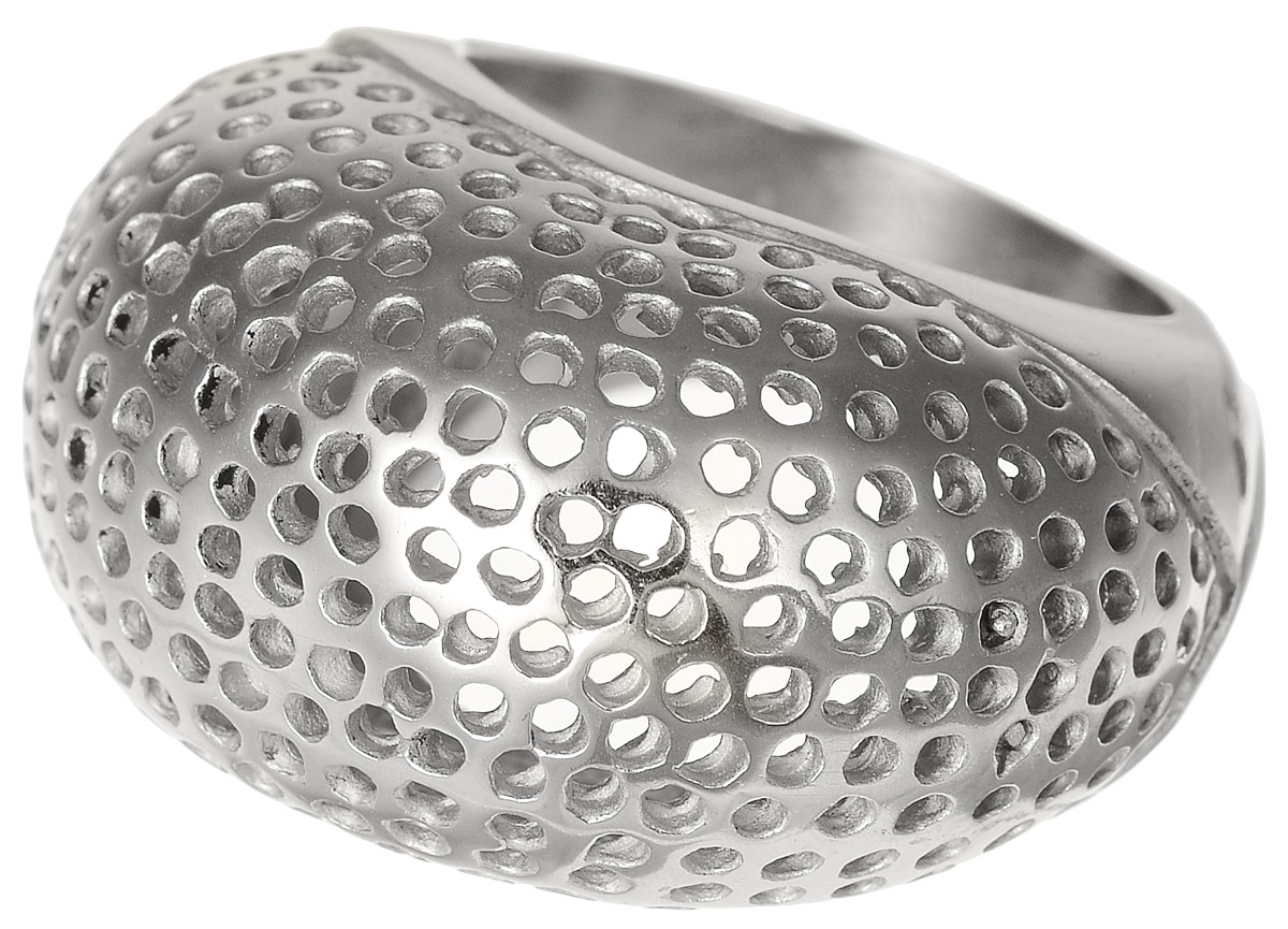 Кольцо Polina Selezneva, цвет: серебристый. DG-0024. Размер 19Коктейльное кольцоКольцо Polina Selezneva, цвет: серебристый. DG-0024. Размер