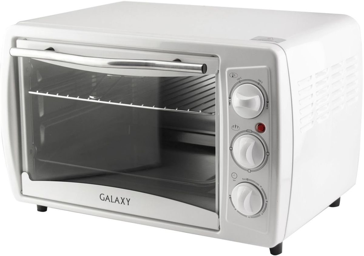 Galaxy GL 2615 мини-печь4630003367389Компактная и многофункциональная электрическая печь Galaxy GL 2615 заменит множество приборов на вашей кухне, станет незаменимым помощником в приготовлении пищи и позволит сэкономить кухонное пространство.