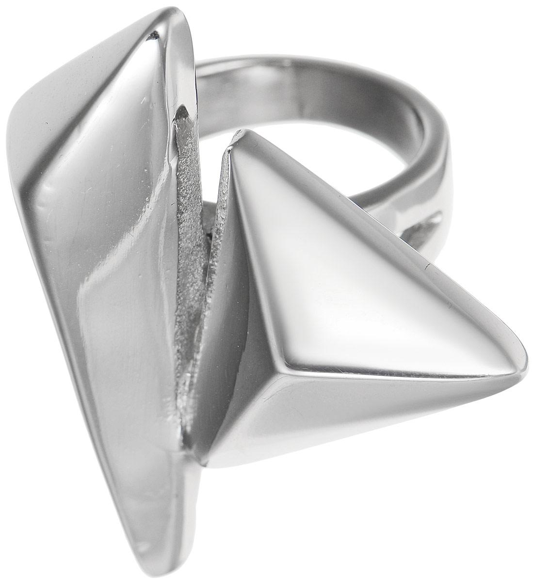 Кольцо Polina Selezneva, цвет: серебристый. DG-0013. Размер 18Коктейльное кольцоСтильное кольцо Polina Selezneva изготовлено из качественного металлического сплава. Декоративная часть выполнена в оригинальной форме.