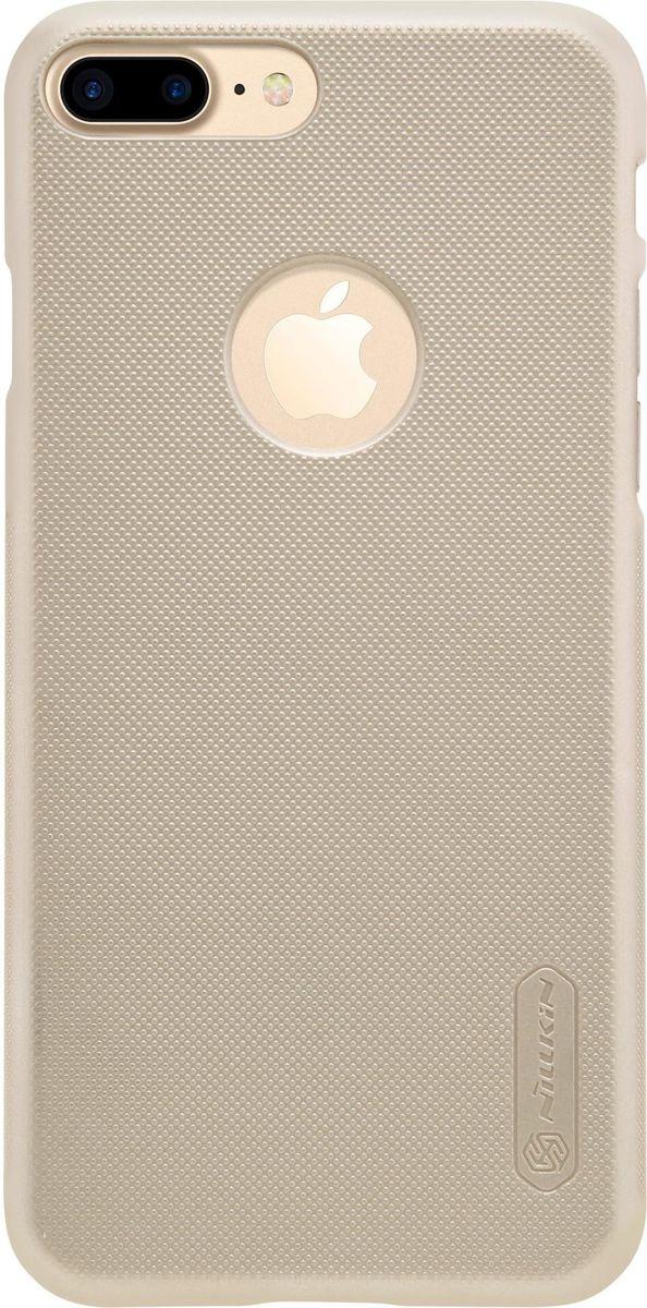 Nillkin Super Frosted Shield чехол для Apple iPhone 7 Plus, Gold2000000100920Чехол Nillkin Super Frosted Shield для Apple iPhone 7 Plus разработан специально для данной модели телефона и обеспечивает доступ ко всем кнопкам и портам. Он надежно защищает ваш смартфон от внешних воздействий, грязи, пыли, брызг, также поможет при ударах и падениях, не позволив образоваться на корпусе царапинам и потертостям. Задняя сторонка чехла изготовлена из шершавого пластика, который не даст телефону выскользнуть из рук.