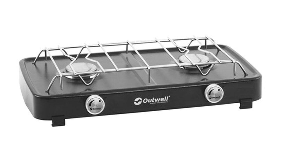 Плитка Outwell  Gourmet Cooker 2-Burner Stove , цвет: серый - Плиты