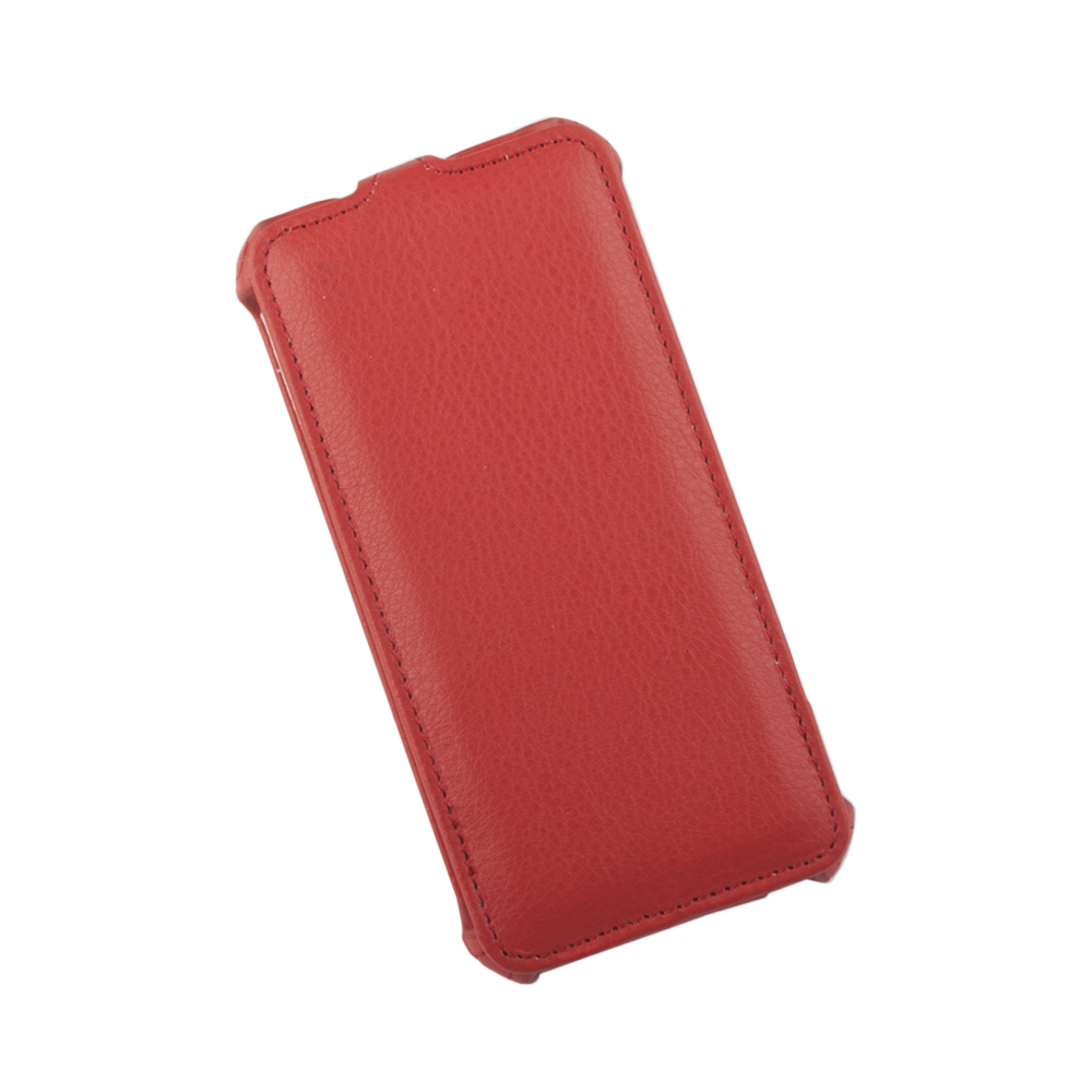 Liberty Project чехол-флип для Apple iPhone 6/6s, Red0L-00002593Флип-чехол Liberty Project для Apple iPhone 6/6s надежно защищает ваш смартфон от внешних воздействий, грязи, пыли, брызг. Он также поможет при ударах и падениях, не позволив образоваться на корпусе царапинам и потертостям. Чехол обеспечивает свободный доступ ко всем функциональным кнопкам смартфона и камере.