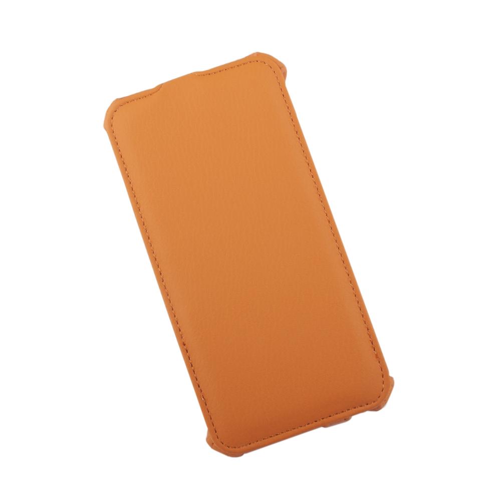 Liberty Project чехол-флип для Apple iPhone 6 Plus/6s Plus, Orange0L-00002598Флип-чехол Liberty Project для Apple iPhone 6 Plus/6s Plus надежно защищает ваш смартфон от внешних воздействий, грязи, пыли, брызг. Он также поможет при ударах и падениях, не позволив образоваться на корпусе царапинам и потертостям. Обеспечивает свободный доступ ко всем разъемам и элементам управления.