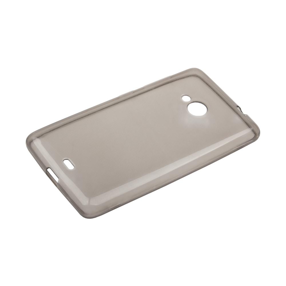 Liberty Project чехол для Microsoft Lumia 535, Clear Black0L-00027187Чехол Liberty Project для Microsoft Lumia 535 надежно защищает ваш смартфон от внешних воздействий, грязи, пыли, брызг. Он также поможет при ударах и падениях, не позволив образоваться на корпусе царапинам и потертостям. Чехол обеспечивает свободный доступ ко всем разъемам и кнопкам устройства.