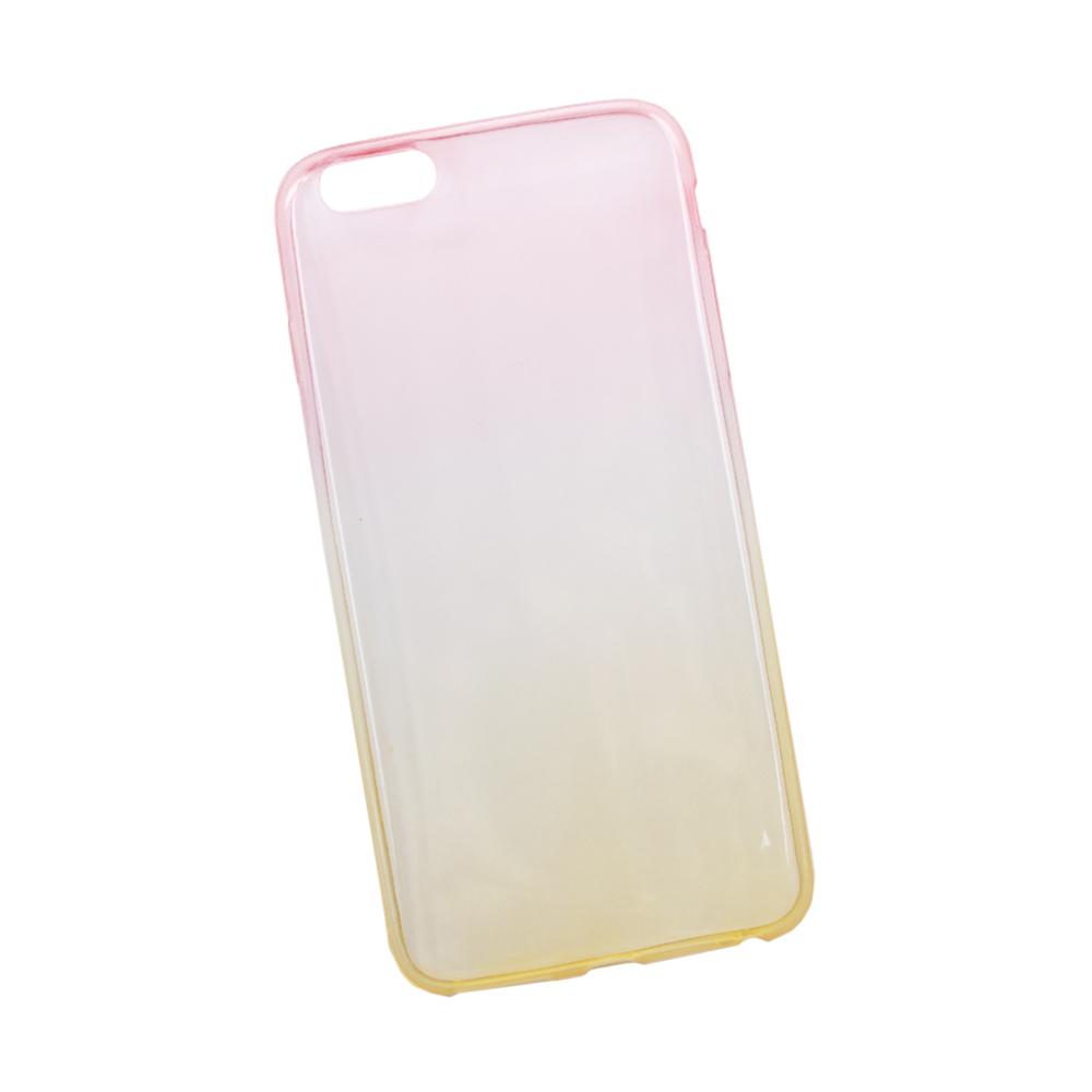Liberty Project чехол для Apple iPhone 6 Plus/6s Plus, Yellow Pink0L-00027305Чехол Liberty Project для Apple iPhone 6 Plus/6s Plus надежно защищает ваш смартфон от внешних воздействий, грязи, пыли, брызг. Он также поможет при ударах и падениях, не позволив образоваться на корпусе царапинам и потертостям. Чехол обеспечивает свободный доступ ко всем разъемам и кнопкам устройства.