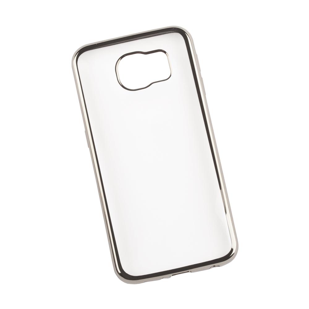 Liberty Project чехол для Samsung Galaxy S6, Clear Silver0L-00027365Чехол Liberty Project для Samsung Galaxy S6 надежно защищает ваш смартфон от внешних воздействий, грязи, пыли, брызг. Он также поможет при ударах и падениях, не позволив образоваться на корпусе царапинам и потертостям. Чехол обеспечивает свободный доступ ко всем разъемам и кнопкам устройства.