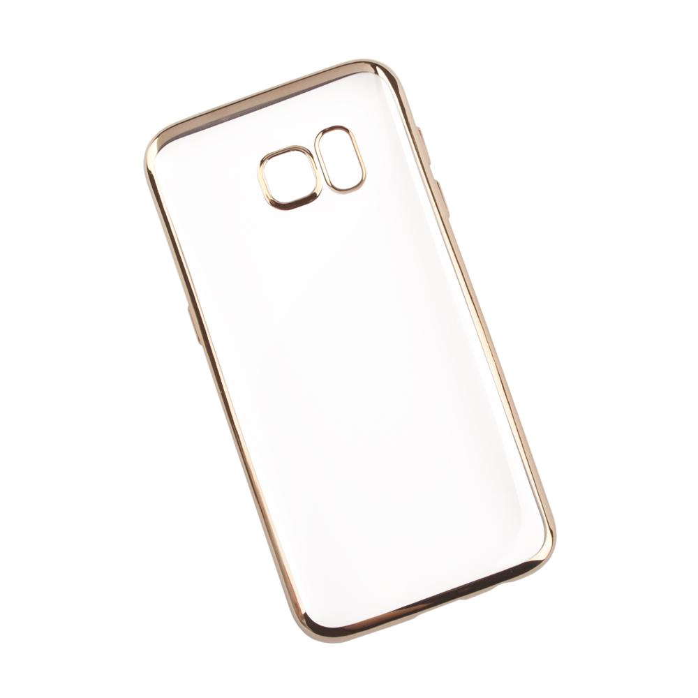 Liberty Project чехол для Samsung Galaxy S7, Clear Gold0L-00027372Чехол Liberty Project для Samsung Galaxy S7 надежно защищает ваш смартфон от внешних воздействий, грязи, пыли, брызг. Он также поможет при ударах и падениях, не позволив образоваться на корпусе царапинам и потертостям. Чехол обеспечивает свободный доступ ко всем разъемам и кнопкам устройства.