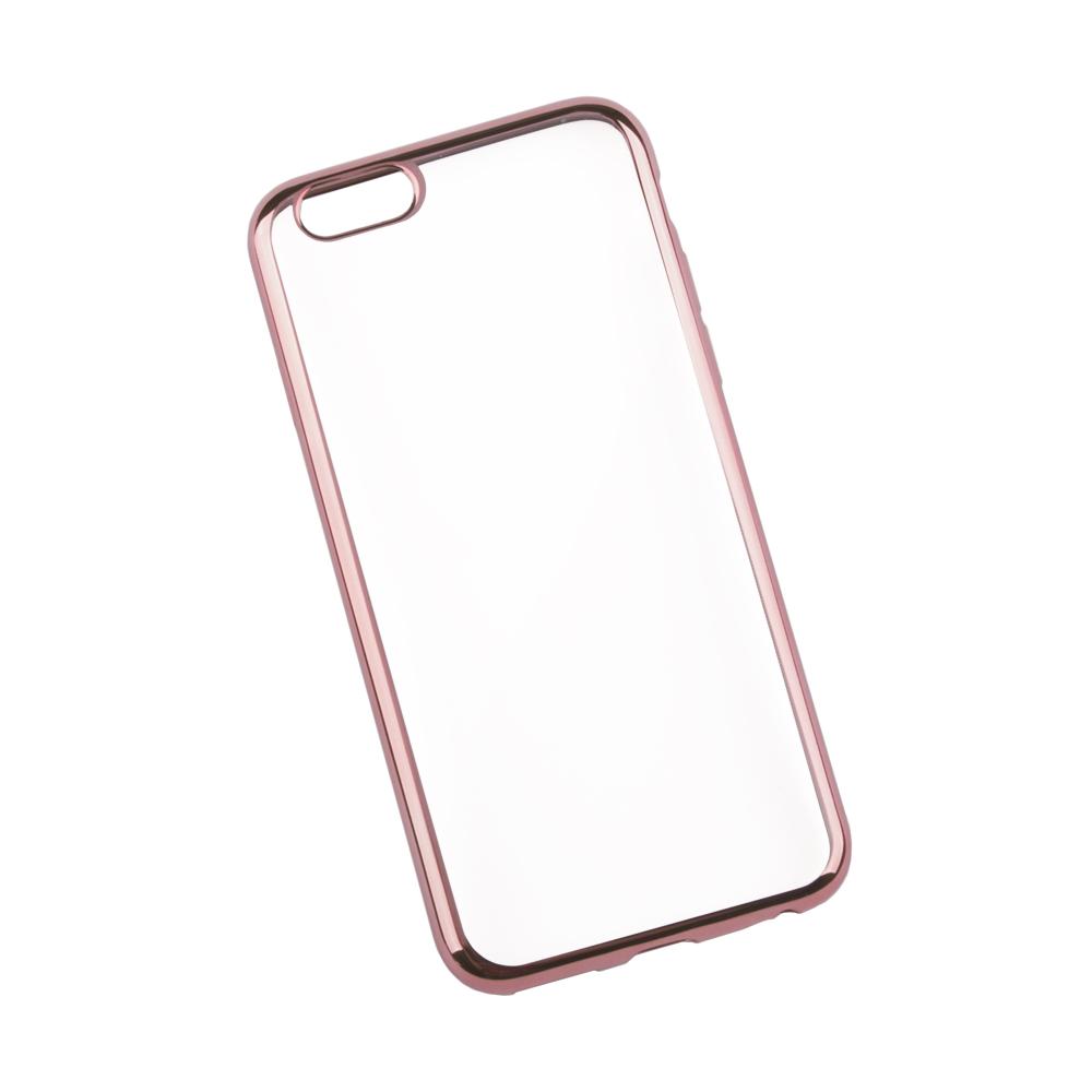 Liberty Project чехол для Apple iPhone 6/6s, Clear Pink0L-00027379Чехол Liberty Project для Apple iPhone 6/6s надежно защищает ваш смартфон от внешних воздействий, грязи, пыли, брызг. Он также поможет при ударах и падениях, не позволив образоваться на корпусе царапинам и потертостям. Чехол обеспечивает свободный доступ ко всем разъемам и кнопкам устройства.