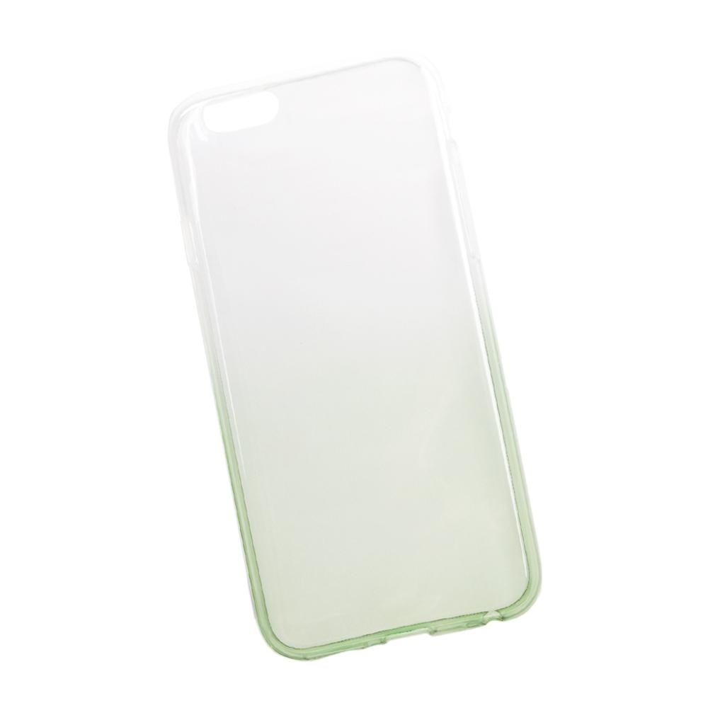 Liberty Project чехол для Apple iPhone 6/6s, White Green0L-00027385Чехол Liberty Project для Apple iPhone 6/6s надежно защищает ваш смартфон от внешних воздействий, грязи, пыли, брызг. Он также поможет при ударах и падениях, не позволив образоваться на корпусе царапинам и потертостям. Чехол обеспечивает свободный доступ ко всем разъемам и кнопкам устройства.