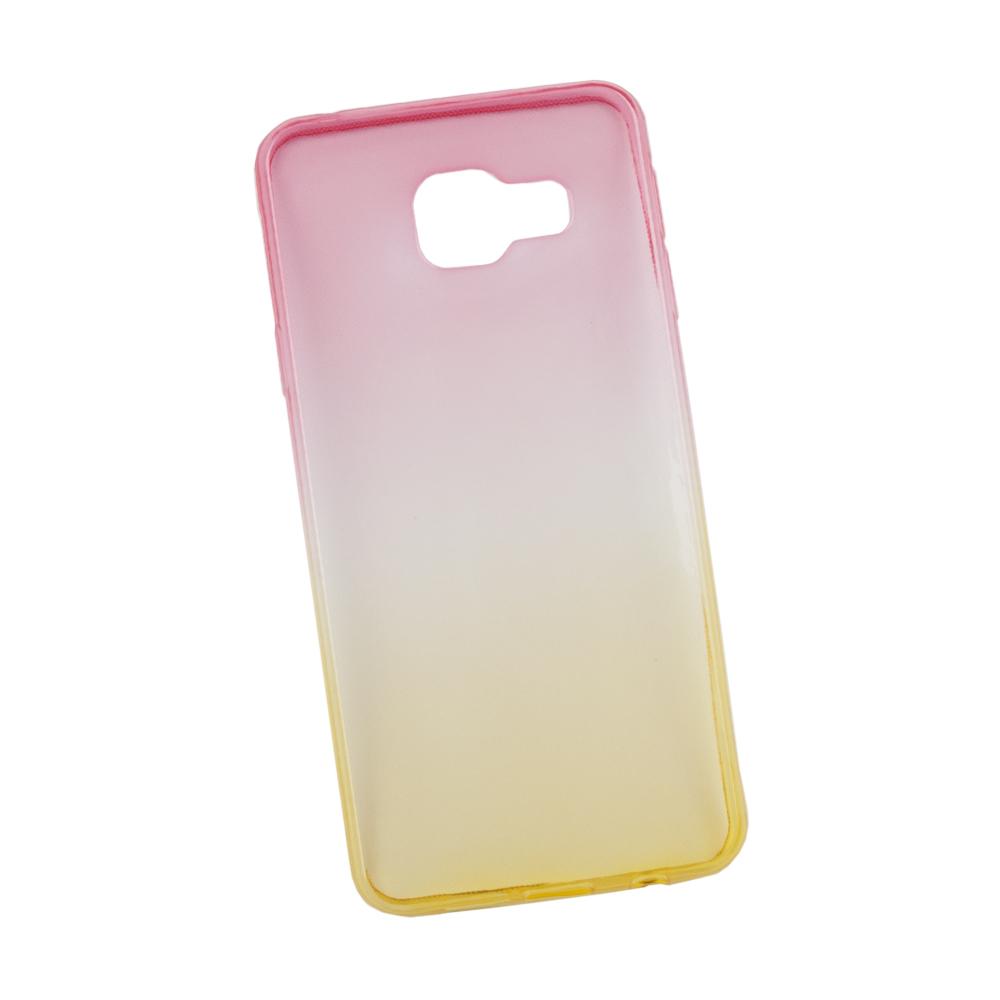 Liberty Project чехол для Samsung Galaxy A3 2016, Yellow Pink0L-00027387Чехол Liberty Project для Samsung Galaxy A3 (2016) надежно защищает ваш смартфон от внешних воздействий, грязи, пыли, брызг. Он также поможет при ударах и падениях, не позволив образоваться на корпусе царапинам и потертостям. Чехол обеспечивает свободный доступ ко всем разъемам и кнопкам устройства.