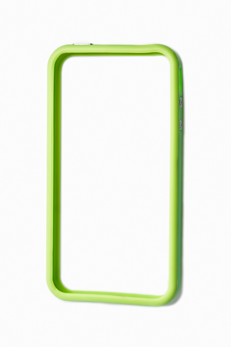 Liberty Project Bumpers чехол для Apple iPhone 4/4S, Green