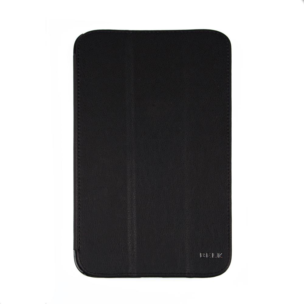 Belk чехол для Samsung Galaxy Tab 3 8,0, BlackR0000333Чехол Belk для Samsung Galaxy Tab 3 8,0 надежно защищает ваш смартфон от внешних воздействий, грязи, пыли, брызг. Он также поможет при ударах и падениях, не позволив образоваться на корпусе царапинам и потертостям. Чехол обеспечивает свободный доступ ко всем разъемам и кнопкам устройства.