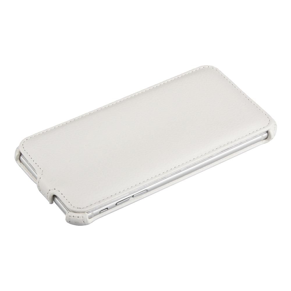 Liberty Project чехол-флип для Apple iPhone 6 Plus/6s Plus, WhiteR0007763Флип-чехол Liberty Project Apple iPhone 6 Plus/6s Plus для надежно защищает ваш смартфон от внешних воздействий, грязи, пыли, брызг. Он также поможет при ударах и падениях, не позволив образоваться на корпусе царапинам и потертостям. Обеспечивает свободный доступ ко всем разъемам и элементам управления.