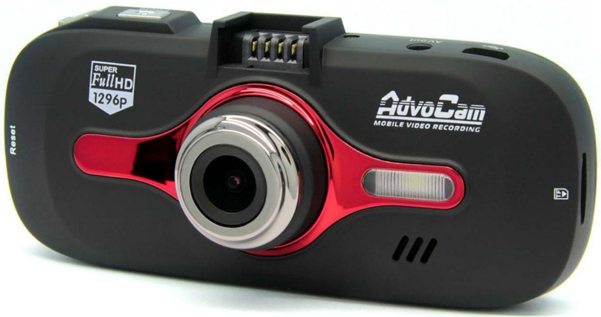 AdvoCam FD8 Red-II видеорегистраторAdvoCam-FD8 Red-IIВидеорегистратор AdvoCam FD8 Red-II имеет сверхвысокое разрешение Super Full-HD 2304х1296 / 30к/сек и дальность четкой записи номеров до 15 метров. Устройство обладает возможностью записи со скоростью 60к/сек (720p) для фиксации быстрых событий и оборудовано высокопроизводительным процессором семейства Ambarella A7.Видеорегистратор обладает возможностью съемки с разрешением 4 мегапикселя, широкоугольным объективом 120° с функцией Dewarp (коррекции оптических искажений) и расширенным диапазоном освещенности WDR (Wide Dynamic Range) с возможностью быстрого включения/выключения.Система информирования о покидании полосы движения LDWS (Lane Departure Warning System)Режим Time Lapse (замедленная запись 1к/с для долгих поездок)Технология One touch - управление главными функциями в одно касание: защита файла от перезаписи, отключение/включение записи звука, включение LED-подсветки, отключение экрана, съемка фотоПитание через кронштейн с системой быстрой установки/снятия видеорегистратораВ комплекте крепления кабеля для незаметного размещения его в салоне автомобиляАвтомобильный адаптер питания с дополнительным USB-разъемом для подзарядки ваших гаджетовПоддержка карт памяти MicroSD емкостью до 128 Гб (24 часа записи в режиме 1080p)Матрица: CMOS, OmniVision 4689, 1/3Объектив: стеклянный, 6-линзовый, f=2,8 мм, F2,5Сжатие, тип файлов: H.264, MOVНочной режим: есть, LED-подсветкаАккумулятор: литий-ионный, 250 мАчСовместимые ОС: Windows XP/Vista/7/8/10Встроенная память: 256 Мб