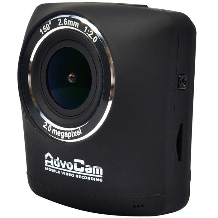 AdvoCam FD-One видеорегистраторAdvoCam-FD-ONEВидеорегистратор AdvoCam FD-One сочетает в себе компактные размеры и элегантный дизайн. Качественная видеозапись осуществляется в формате Full-HD 1920х1080 / 30к/сек, а дальность четкой записи номеров составляет до 10 метров. Высокая чувствительность в темноте достигается благодаря большому размеру CMOS матрицы 1/2,7, а за счет разрешения матрицы 2 МПикс при ее размере 1/2,7 площадь каждого пикселя составляет 3х3 мкм, что гораздо больше чему у меньших матриц (1/3'' или 1/4'') с разрешением 4-5 МПикс. Поэтому и количество получаемого матрицей света и чувствительность в темноте гораздо выше.Фоторежим 2 МПикс, (интерполированный до 12 МПикс)Широкоугольный светосильный объектив 150° с функцией Dewarp (коррекция оптических искажений)Технология One touch - управление главными функциями в одно касаниеМощный аккумулятор 550мА –до получаса автономной видеозаписиПоддержка карт памяти MicroSD емкостью до 32 ГбПроцессор: Generalplus 2159Матрица: JX-F02 CMOS 1/2.7, 2 МПикс, SOIОбъектив : стеклянный, 5-линзовый, f=2,6 мм, F2,0, 150°Ночной режимСовместимые ОС: Windows XP/Vista/7/8/10