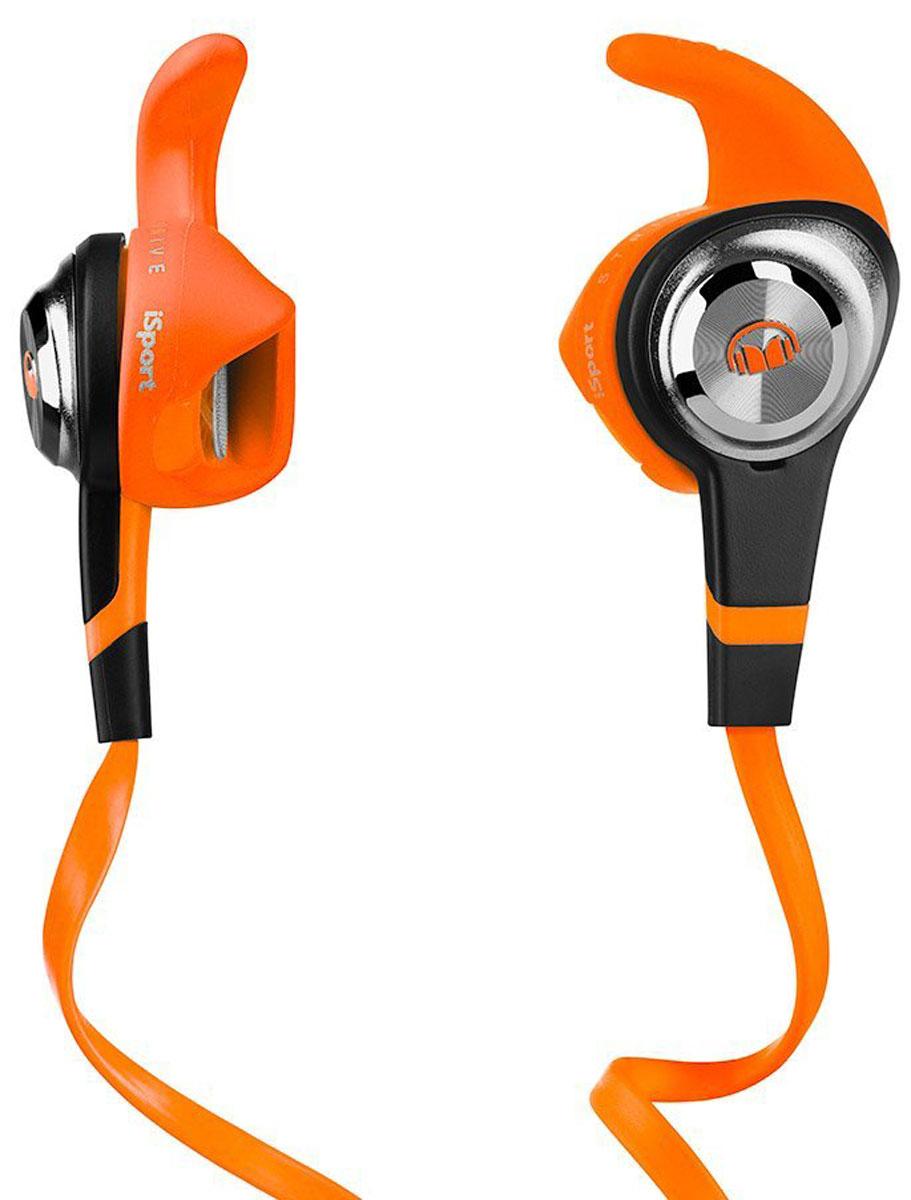 Monster iSport Strive, Orange наушники137029-00Monster iSport Strive - самая компактная и доступная модель в линейке iSport. Частичная звукоизоляция позволяет вам полноценно присутствовать сразу в двух мирах: в мире спорта и в мире музыки. Вы одновременно слышите происходящее вокруг вас и наслаждаетесь прекрасным звуком с технологией Pure Monster SoundЛучшее их двух миров: спорт и музыкаStrive обеспечивает захватывающий звук и в то же самое время держит вас в курсе происходящего вокруг. Вы можете играть в баскетбол, кататься на сноуборде или общаться с друзьями, всё это совмещая с любимой музыкой.Они не выпадутЗапатентованная конструкция Monster SportClip рассчитана на то, чтобы оставаться в ухе, что бы вы ни делали. Музыка не остановится, катаетесь ли вы на велосипеде или бегаете по футбольному полю.Влагостойкие. Моющиеся. С антибактериальным покрытиемНасадки с антибактериальным покрытием легко моются водой с небольшим количеством мыла.Плоский кабель, устойчивый к спутываниюВам больше не придется терять время на распутывание кабеля. Плоский кабель также наиболее удобен при одновременном использовании со шлемами, очками и масками.Микрофон и управление ControlTalk на кабелеПринимайте звонки, не прерывая тренировку. iSport Strive оснащён удобной системой управления вашего смартфона, планшета или плеера.