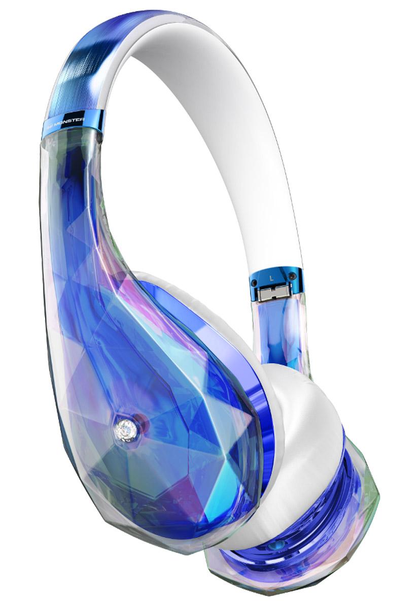 Monster DiamondZ, Clear Blue наушники137028-00Наушники Diamondz созданы как объект высокой моды, спроектированы с неограниченной фантазией и с использованием только лучших материалов. Когда вы слушаете Diamondz, Вы слушаете музыку, как не слышали никогда раньше. Для звука высокой четкости нужны особая технология динамиков и качественные материалы. Только таким образом можно получить качество звука, заявленное в наушниках Diamondz. Технология Diamondz не использует схемы усиления или шумоподавления, которые добавляют непредусмотренные композицией частоты и краски звука, поэтому вы слышите музыку во всей ее аутентичности и бескомпромиссности. Громкий, захватывающий бас, волнующие точные средние и сверкающие высокие частоты. Представьте себе самую яркую и убедительную музыкальную систему, которую вы когда-либо слышали. А теперь представьте, что вы используете ее в качестве наушников.Для высокопроизводительных наушников очень важно удобство. Чтобы бас звучал экстремально чисто и интенсивно, плотные пенные амбушюры должны быть высочайшего качества и подавлять внешние шумы. С первого момента знакомства с Diamondz, ещё до включения музыки, Вы почувствуете сочетание физического комфорта и технологий.