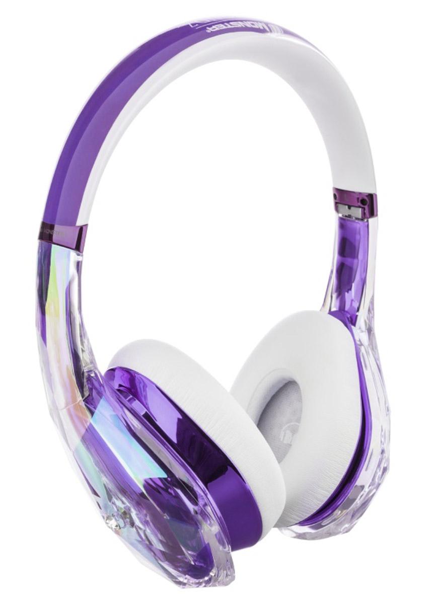 Monster DiamondZ, Purple White наушники137016-00Наушники Diamondz созданы как объект высокой моды, спроектированы с неограниченной фантазией и с использованием только лучших материалов. Когда вы слушаете Diamondz, Вы слушаете музыку, как не слышали никогда раньше. Для звука высокой четкости нужны особая технология динамиков и качественные материалы. Только таким образом можно получить качество звука, заявленное в наушниках Diamondz. Технология Diamondz не использует схемы усиления или шумоподавления, которые добавляют непредусмотренные композицией частоты и краски звука, поэтому вы слышите музыку во всей ее аутентичности и бескомпромиссности. Громкий, захватывающий бас, волнующие точные средние и сверкающие высокие частоты. Представьте себе самую яркую и убедительную музыкальную систему, которую вы когда-либо слышали. А теперь представьте, что вы используете ее в качестве наушников.Для высокопроизводительных наушников очень важно удобство. Чтобы бас звучал экстремально чисто и интенсивно, плотные пенные амбушюры должны быть высочайшего качества и подавлять внешние шумы. С первого момента знакомства с Diamondz, ещё до включения музыки, Вы почувствуете сочетание физического комфорта и технологий.