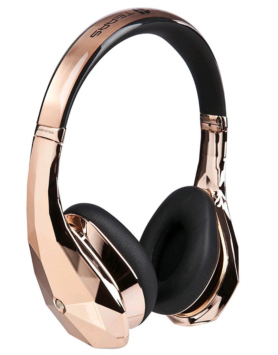 Monster DiamondZ, Rose Gold наушники137015-00Наушники Diamondz созданы как объект высокой моды, спроектированы с неограниченной фантазией и с использованием только лучших материалов. Когда вы слушаете Diamondz, Вы слушаете музыку, как не слышали никогда раньше. Для звука высокой четкости нужны особая технология динамиков и качественные материалы. Только таким образом можно получить качество звука, заявленное в наушниках Diamondz. Технология Diamondz не использует схемы усиления или шумоподавления, которые добавляют непредусмотренные композицией частоты и краски звука, поэтому вы слышите музыку во всей ее аутентичности и бескомпромиссности. Громкий, захватывающий бас, волнующие точные средние и сверкающие высокие частоты. Представьте себе самую яркую и убедительную музыкальную систему, которую вы когда-либо слышали. А теперь представьте, что вы используете ее в качестве наушников.Для высокопроизводительных наушников очень важно удобство. Чтобы бас звучал экстремально чисто и интенсивно, плотные пенные амбушюры должны быть высочайшего качества и подавлять внешние шумы. С первого момента знакомства с Diamondz, ещё до включения музыки, Вы почувствуете сочетание физического комфорта и технологий.