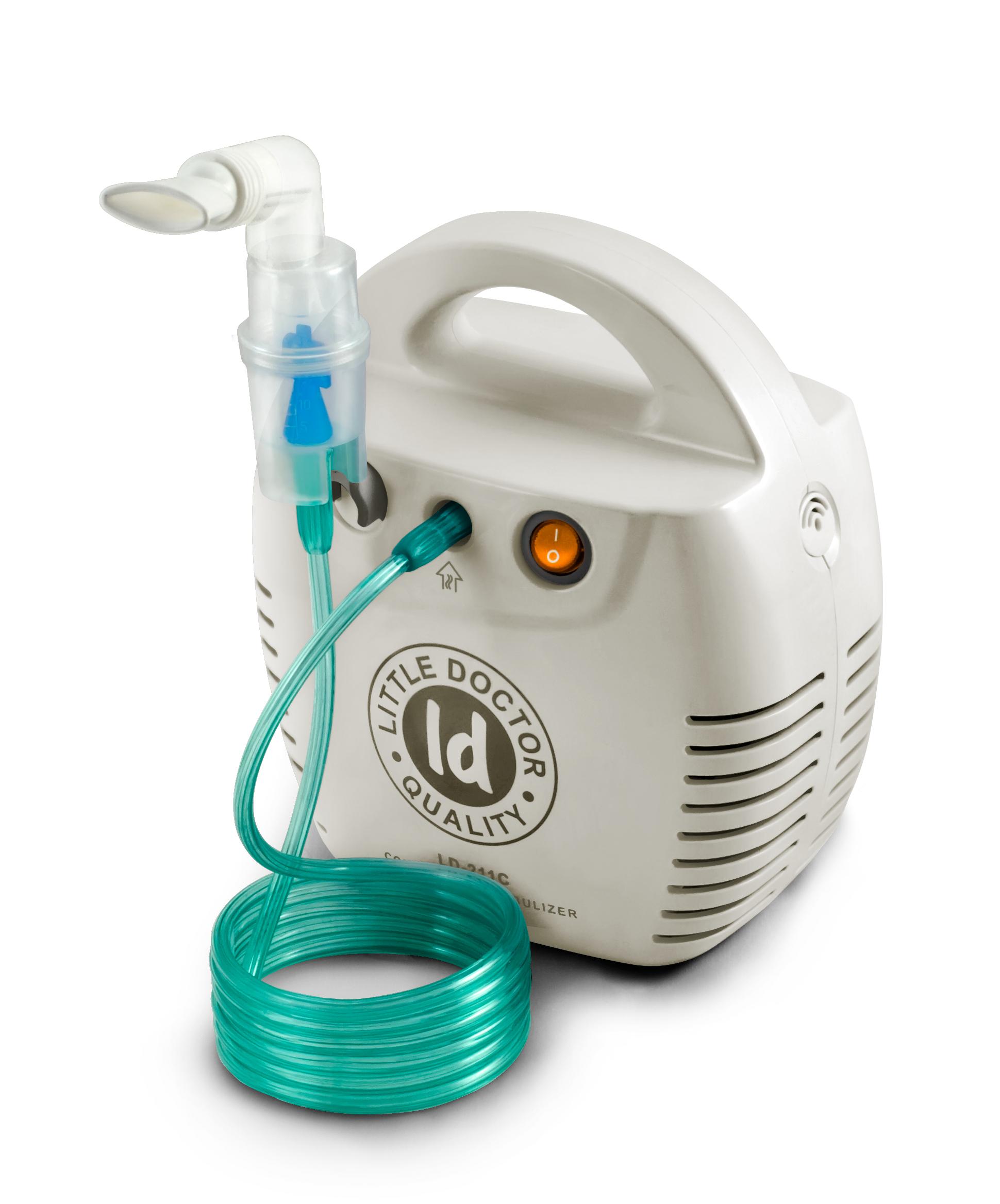 Little Doctor Ингалятор компрессорный LD-211 белый увлажнители и очистители воздуха air doctor блокатор вирусов портативный