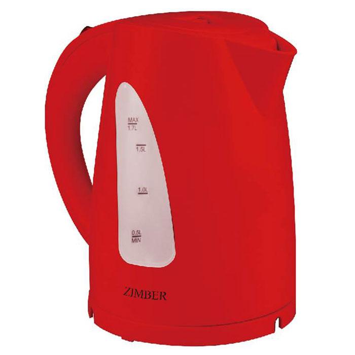 Zimber ZM-11029, Red электрический чайникZM-11029Электрический чайник Zimber ZM-11029 мощностью 2200 Вт и объемом 1,7 литра отвечает всем современным требованиям надежности и безопасности. При его производстве используются только высококачественные и экологически безопасные материалы, а также нагревательный элемент и контроллеры высокого класса надежности. Устройство будет служить вам долгие годы, наполняя ваш быт комфортом!