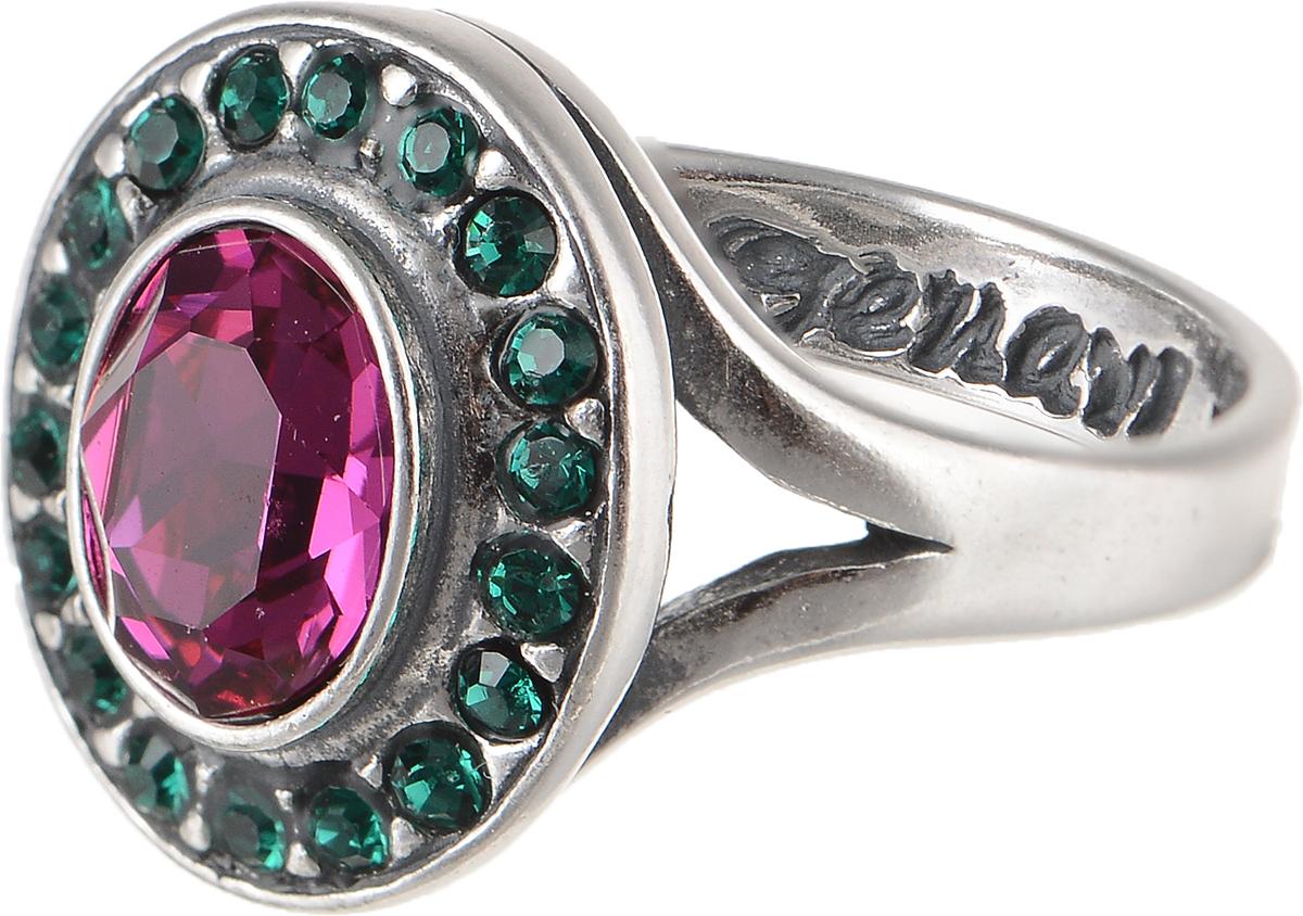 Кольцо Jenavi Murano. Навогеро, цвет: серебряный, фиолетовый. r4683050. Размер 17Коктейльное кольцоЭлегантное кольцо Jenavi Murano. Навогеро изготовлено из гипоаллергенного ювелирного сплава. Декоративная часть оформлена кристаллами Swarovski. Такое стильное кольцо идеально дополнит ваш образ и подчеркнет вашу индивидуальность.