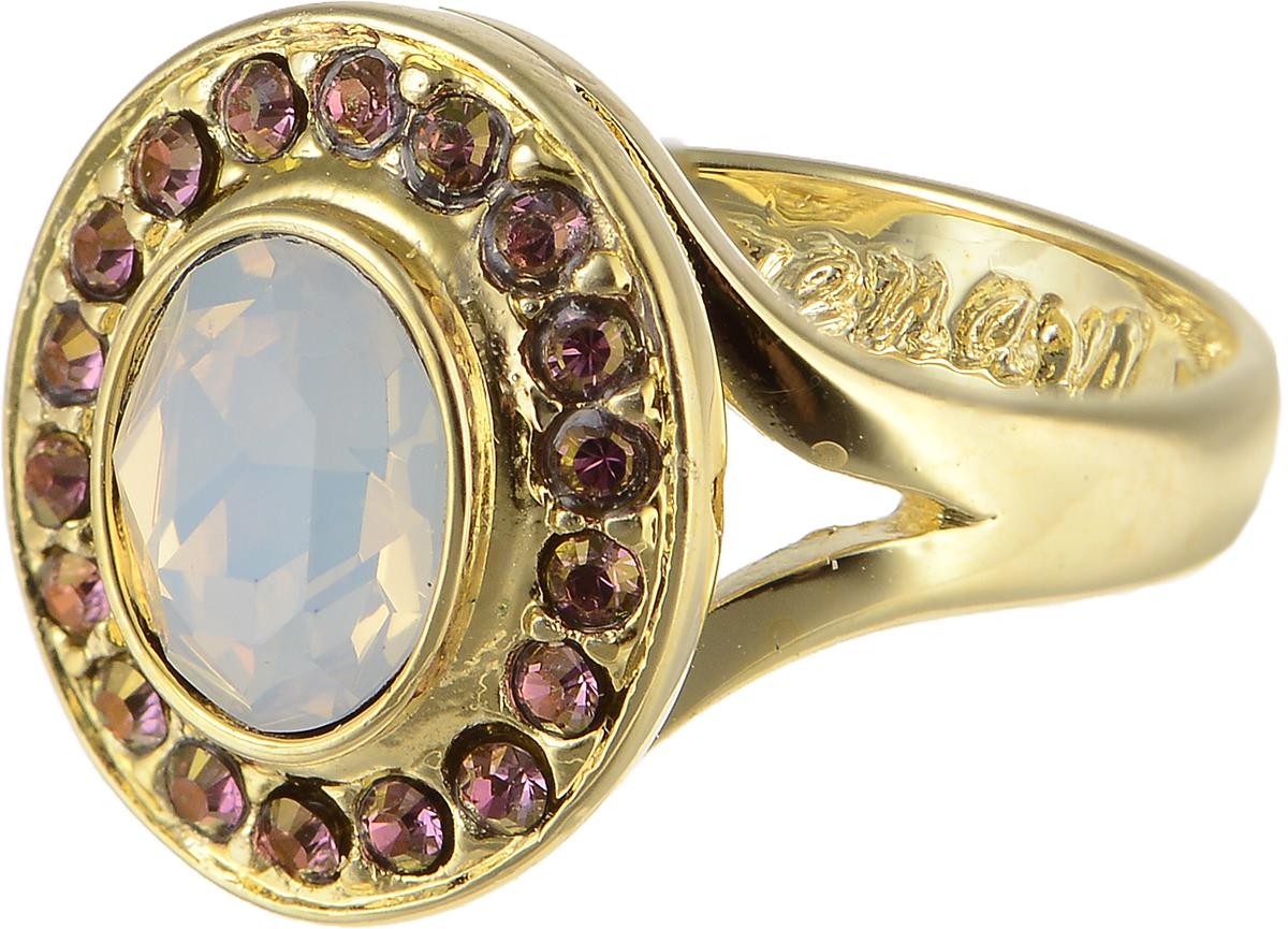 Кольцо Jenavi Murano. Навогеро, цвет: золотой, перламутровый. r468p005. Размер 17Коктейльное кольцоЭлегантное кольцо Jenavi Murano. Навогеро изготовлено из гипоаллергенного ювелирного сплава. Декоративная часть оформлена кристаллами Swarovski. Такое стильное кольцо идеально дополнит ваш образ и подчеркнет вашу индивидуальность.