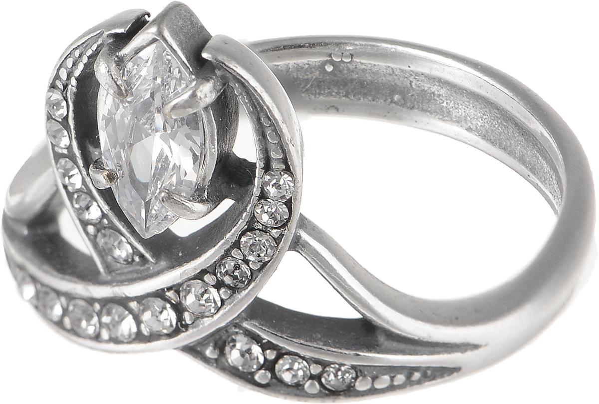 Кольцо Jenavi Изумрудные мечты. Крибус, цвет: серебряный. h80430a0. Размер 19Коктейльное кольцоЭлегантное кольцо Jenavi Изумрудные мечты. Крибус изготовлено из гипоаллергенного ювелирного сплава. Декоративная часть оформлена фианитами. Такое стильное кольцо идеально дополнит ваш образ и подчеркнет вашу индивидуальность.
