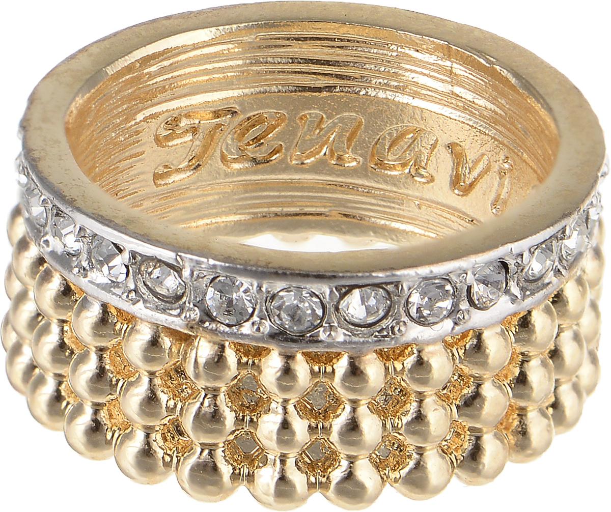 Кольцо Jenavi Relax. Дайдо, цвет: золотой, серебряный. r975q000. Размер 17Коктейльное кольцоЭлегантное кольцо Jenavi Relax. Дайдо изготовлено из гипоаллергенного ювелирного сплава. Декоративная часть оформлена кристаллами Swarovski. Внутренняя сторона изделия дополнена гравировкой с названием бренда. Такое стильное кольцо идеально дополнит ваш образ и подчеркнет вашу индивидуальность.