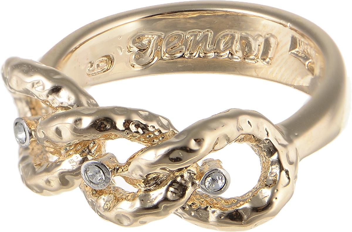 Кольцо Jenavi Relax. Исинми, цвет: золотой. r964q000. Размер 17Коктейльное кольцоЭлегантное кольцо Jenavi Relax. Исинми изготовлено из гипоаллергенного ювелирного сплава. Декоративная часть оформлена кристаллами Swarovski. Внутренняя сторона изделия дополнена гравировкой с названием бренда. Такое стильное кольцо идеально дополнит ваш образ и подчеркнет вашу индивидуальность.