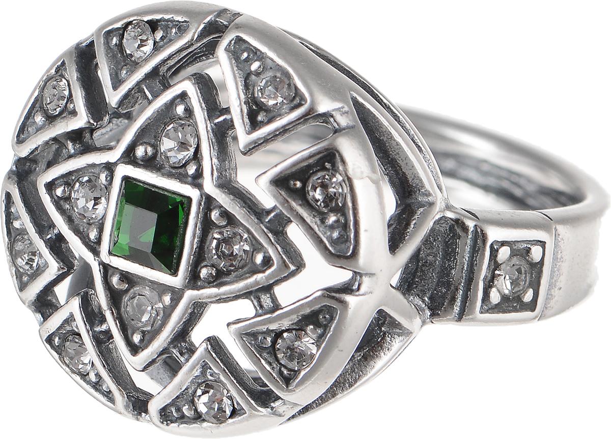 Кольцо Jenavi Изумрудные мечты. Верта, цвет: серебряный, зеленый. h7933030. Размер 16Коктейльное кольцоЭлегантное кольцо Jenavi Изумрудные мечты. Верта изготовлено из гипоаллергенного ювелирного сплава. Декоративная часть оформлена стразами Swarovski. Такое стильное кольцо идеально дополнит ваш образ и подчеркнет вашу индивидуальность.