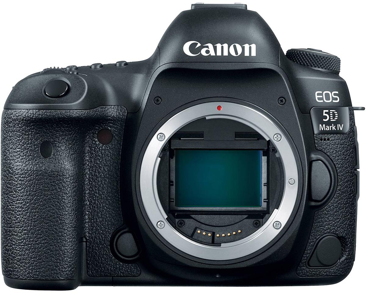 Canon EOS 5D Mark IV Body цифровая зеркальная фотокамера1483C025Canon EOS 5D Mark IV обеспечивает безупречное качество изображения и производительность профессионального уровня независимо от типа съемки.Продуманная конструкция и широкие функциональные возможности камеры EOS 5D Mark IV подойдут для любых условий съемки.С того момента как свет попадает в объектив, EOS 5D Mark IV сохраняет все характеристики, цвета и детали. В очередной раз Canon поражает уровнем детализации изображения, благодаря использованию нового сенсора, обеспечивающего непревзойденную четкость снимков.30,4-мегапиксельный датчик изображения CMOS позволяет создавать изображения с высоким уровнем детализации и низким уровнем шума даже в ярко освещенных и сильно затененных участках кадра. Благодаря улучшенному разрешению камера передает мельчайшие детали, и вы можете обрезать кадр и создавать идеальные снимки без потери качества изображения.Каждый из 30 миллионов пикселей камеры состоит из двух фотодиодов, которые могут использоваться вместе или по отдельности. Эта технология позволяет создавать файлы в формате Dual Pixel RAW (DPRAW). Такой формат файлов содержит два изображения, снятые с двух незначительно отличающихся ракурсов. При обработке отснятого материала с помощью программного обеспечения Digital Photo Professional, пользователь сможет применить данные, содержащиеся в файле формата Dual Pixel RAW, для микронастройки положения зоны максимальной резкости.Производительность в условиях слабого освещения была улучшена для всего диапазона значений ISO одновременно со значительным уменьшением уровня цифрового шума. Также максимальное значение ISO было увеличено до ISO 32000 (с возможностью расширения до ISO 102400). Вы можете быть уверены в превосходном качестве изображений даже в условиях плохого освещения.Встроенная функция коррекции аберрации объектива улучшает его рабочие характеристики, компенсируя такие факторы, как дифракция, искажения и хроматическая аберрация, что позволяет заметно повыси