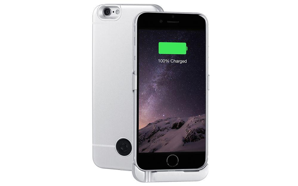 Interstep чехол-аккумулятор для Apple iPhone 6, Silver (3000 мАч)40372Металлический ультратонкий клипкейс толщиной всего 5мм не меняет внешний вид iPhone 6 / 6S. Аккумулятор емкостью 3000мАч Li-POLYMER позволяет удвоить время работы смартфона. Вход питания клипкейса: 8-пин (аналогичен входу питания смартфона). Клипкейс поддерживает функцию сквозного заряда.Что такое сквозной заряд?..Ставим iPhone в клипкейсе на заряд на ночь - с утра получаем оба устройства заряженными!