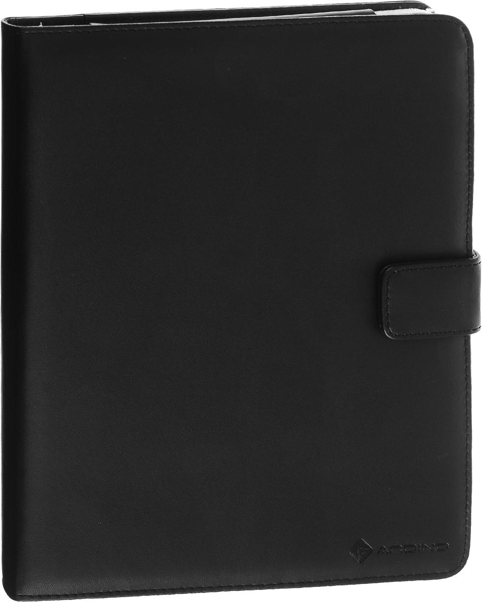 Andino чехол для iPad, Mystic Black19549Функциональный и стильный чехол Andino для Apple iPad с подставкой выполнен из натуральной кожи. Он защитит ваш любимый гаджет от пыли, грязи и царапин, а также станет отличным дополнением к вашему имиджу.