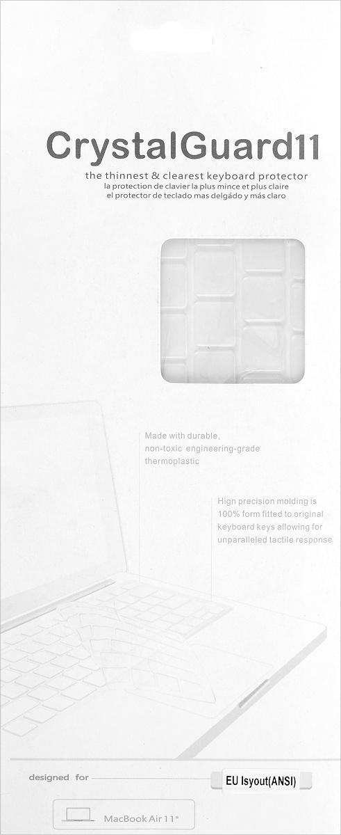 Liberty Project защитная накладка на клавиатуру для Macbook 110L-00000772Накладка Liberty Project обеспечит надежную защиту клавиатуры вашего ноутбука Apple Macbook 11 от пролитой жидкости, застрявших крошек или липких пальцев. Она сделана из ультратонкого термосиликона, поэтому не снизит отзывчивость клавиш, а при загрязнении Liberty Project можно легко промыть в воде.