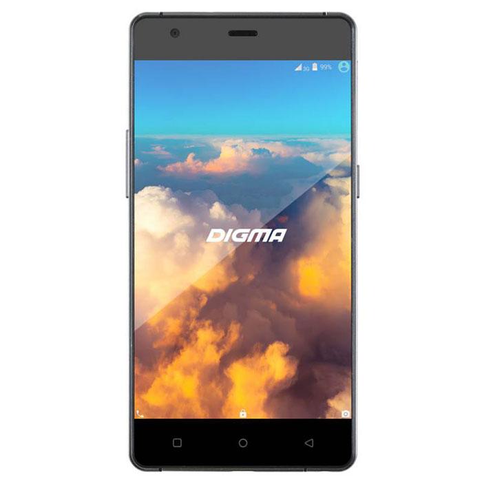 Digma VOX S503 4G, Black - Смартфоны