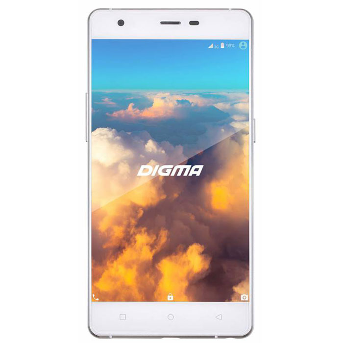 Digma VOX S503 4G, WhiteVS5008MLDigma VOX S503 4G - стильный смартфон с алюминиевым корпусом и передней панелью, покрытым цельным ламинированным стеклом. Устройство оснащено пятидюймовым IPS-экраном, обеспечивающим насыщенность и отличную цветопередачу изображения. Тонкие рамки дисплея позволят вам сосредоточить внимание на картинке при просмотре мультимедиа-файлов. Устройство снабжено передатчиками 3G/4G, оснащено оперативной памятью объемом 1 Гб и имеет 13-мегапиксельную камеру со светодиодной вспышкой. Встроенная GPS-антенна делает устройство полезным для водителей, путешественников и людей, ведущих активный образ жизни.Телефон сертифицирован EAC и имеет русифицированный интерфейс меню и Руководство пользователя.