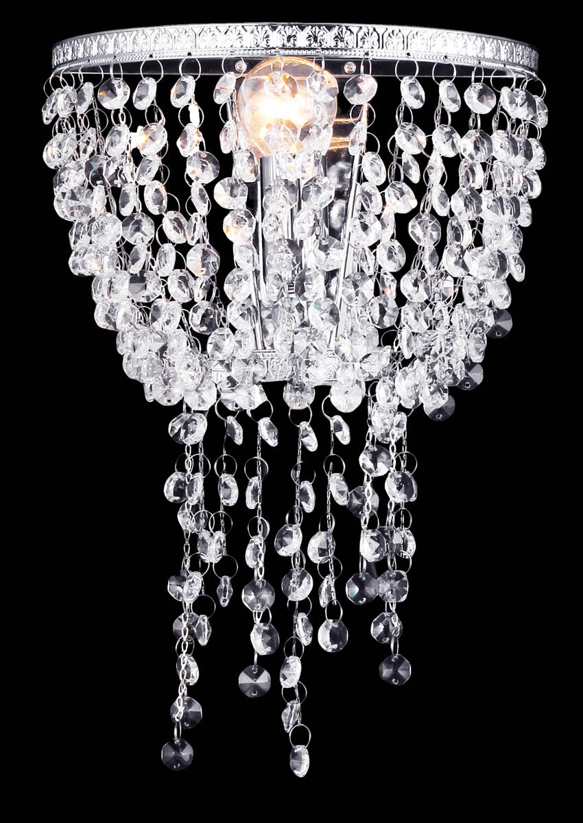 Бра Natali Kovaltseva, 1 х E14, 60W. 11425/1WIMPERIALE 11425/1W CHROMEБра Natali Kovaltseva, выполненное в классическом стиле, станет украшением вашей комнаты и изысканно дополнит интерьер. Изделие крепится к стене. Такое бра отлично подойдет для освещения спальни или гостиной. Бра выполнено из металла с хромированным покрытием и стекла. В коллекциях Natali Kovaltseva представлены разные стили - от классики до хайтека. Дизайн и технологическая составляющая продукции разрабатывается в R&D центре компании, который находится в г. Дюссельдорф, Германия. При производстве продукции используются высококачественные и эксклюзивные материалы: хрусталь ASFOR, муранское стекло, перламутр, 24-каратное золото, бронза. Производство светильников соответствует стандарту системы менеджмента качества ISO 9001-2000. На всю продукцию ТМ Natali Kovaltseva распространяется гарантия.