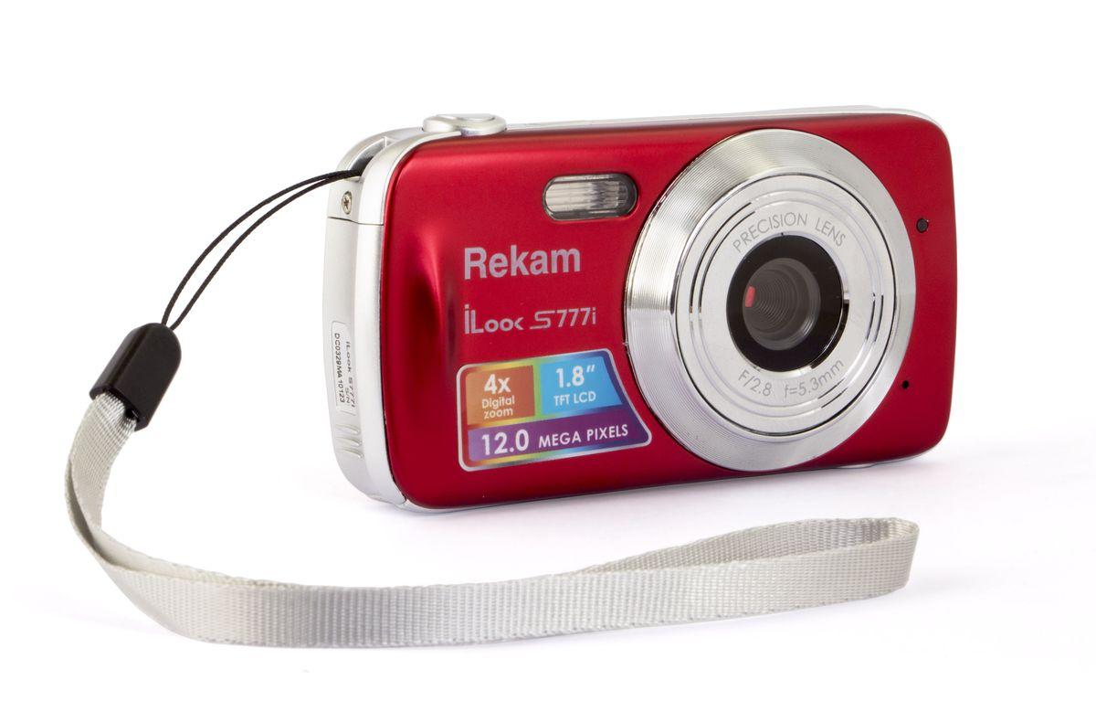 Rekam iLook S777i, Red цифровая фотокамера rekam ilook s950i black цифровая фотокамера