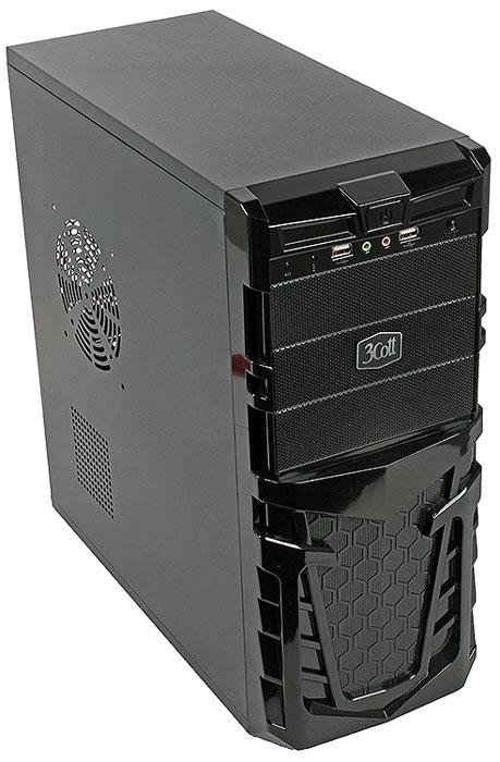 3Cott Gaul компьютерный корпус (3C-ATX112G)3C-ATX112G3Cott Gaul – ATX корпус для сборки игровых систем начального уровня. Черная передняя панель выполнена в брутальном стиле, с черными глянцевыми гранями и декоративным узором в виде сот.Кнопка включения, дополнительные USB 2.0 порты и аудиовыходы расположены в верхней части передней панели. Блок питания мощностью 500 Вт позволяет использовать требовательные к питанию комплектующие, а продуманная система отвода тепла с возможностью установки дополнительных вентиляторов обеспечит стабильное охлаждение плат расширения.